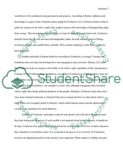courage essay thesis