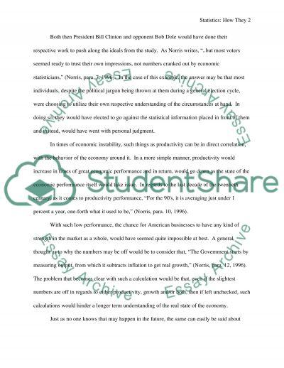 Junk Statistics Paper essay example
