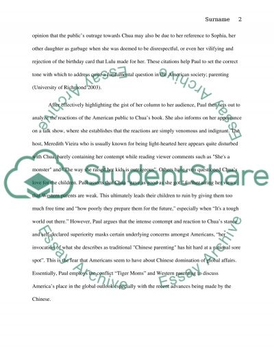 Parenting and Student Success