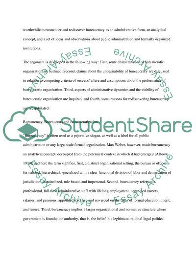 bureaucracy policy essay example  topics and well written essays  bureaucracy policy