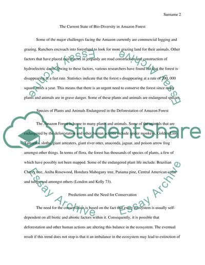 Essay Thesis Ecology You Are Required To Write An Essay On A Case Study Rainforest  Conservation High School English Essay Topics also A Thesis For An Essay Should Ecology You Are Required To Write An Essay On A Case Study The Purdue University Online Writing Lab