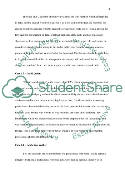 Finance and Accounting Case Study essay example