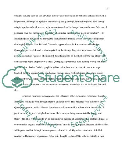 Otherness In Moby Dick Essay Example  Topics And Well Written  Otherness In Moby Dick High School Narrative Essay Examples also E Business Essay  Proposal Essay Topics