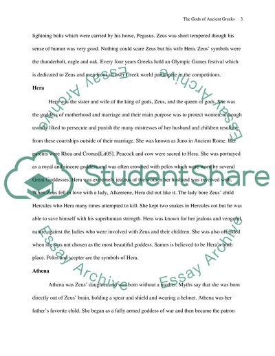 Health Essay Writing The Gods Of Ancient Greece History Of English Essay also What Is The Thesis Statement In The Essay The Gods Of Ancient Greece Essay Example  Topics And Well Written  A Level English Essay