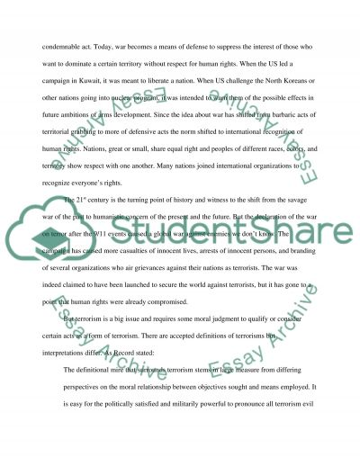 Ethical Argument Choose a topic and argue the ethical side opposite of the accepted norm essay example