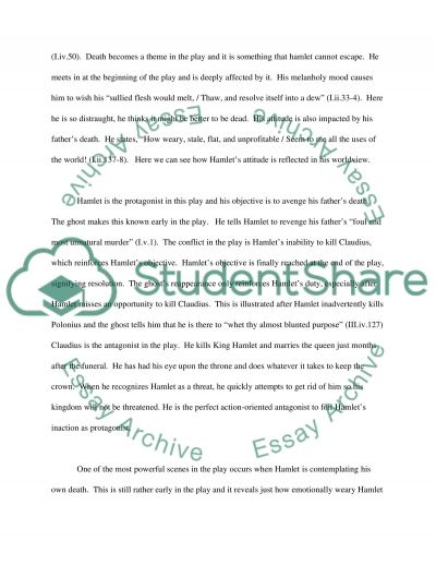 William Shakespeares Hamlet essay example