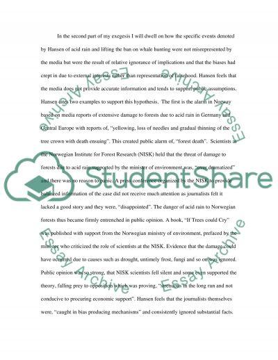 Philosophy of Media Ethics essay example