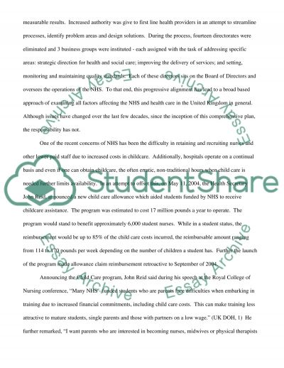 Origins and Evolution of the NHS and Social Care Services essay example