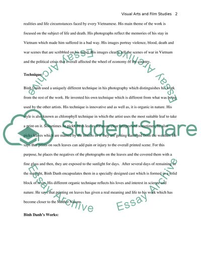 Binh Danh Research Paper Example | Topics and Well Written