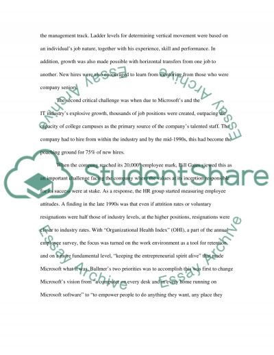 Microsoft High School Case Study essay example