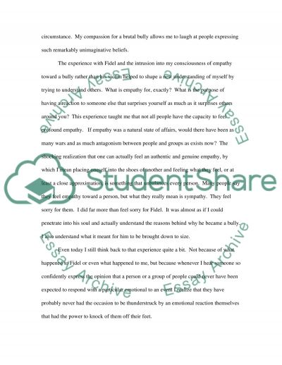 Writing a memoir essay example