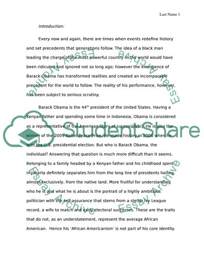 How To Write A High School Application Essay President Obama Persuasive Essay Papers also Essays For Kids In English President Obama Essay Example  Topics And Well Written Essays  High School Entrance Essay Samples