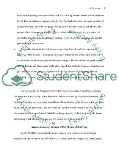 Essay Thesis Statements Cell Phone Use Should Be Banned While Driving How To Write An Essay For High School Students also How To Write A High School Application Essay Cell Phone Use Should Be Banned While Driving Essay Health Care Essays