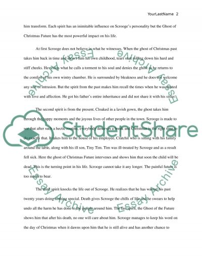 scrooges transformation essay Get an answer for 'how does charles dickens show the transformation of scrooge's character where scrooge comes to realize that the poor are really his fellow travelers to the gravei'm unsure how to structure this essay and what are the key arguments i need to include' and find homework help for other a christmas carol questions at enotes.