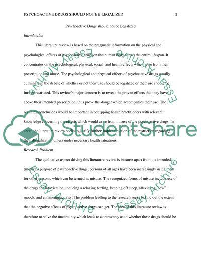literature review example topics