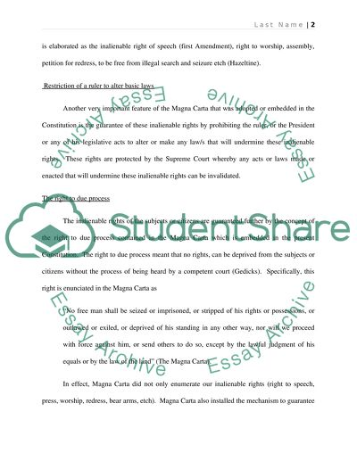 Developing a narrative essay