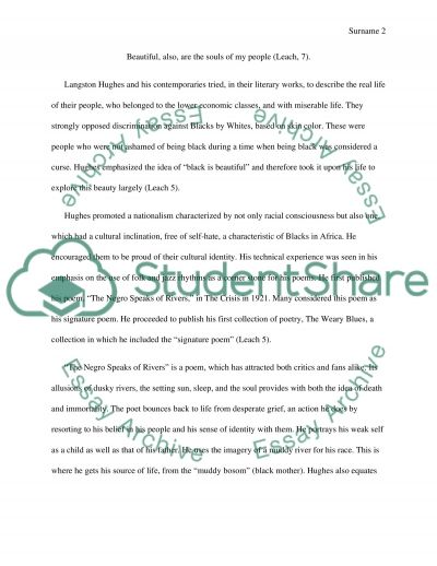 Comparative Essay Thesis Statement Poetry Research Paper On Langston Hughes Community Service Scholarship Essay also Essay My Mother Poetry Research Paper On Langston Hughes Essay Example  Topics And  Education Importance Essay