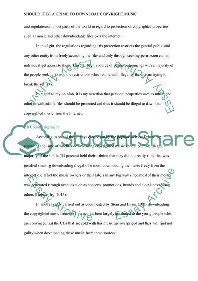 copyright essay