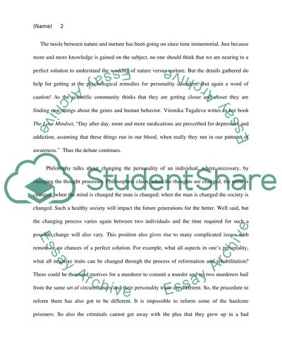 Essay Proposal Sample Nature Vs Nurture Essays For High School Students also Comparison Contrast Essay Example Paper Nature Vs Nurture Essay Example  Topics And Well Written Essays  Persuasive Essay Example High School