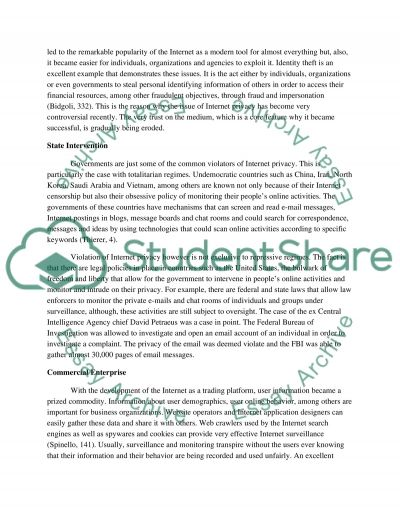 internet privacy research paper example topics and well written  internet privacy essay example