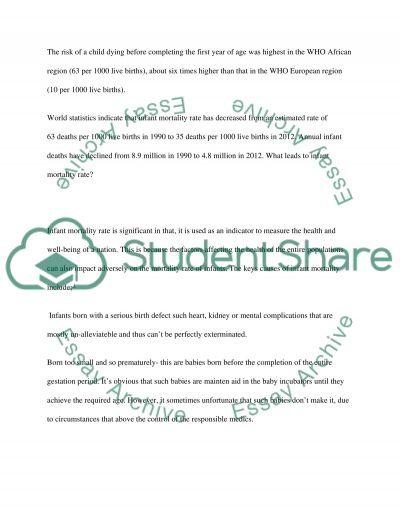 Quantitative research essay example