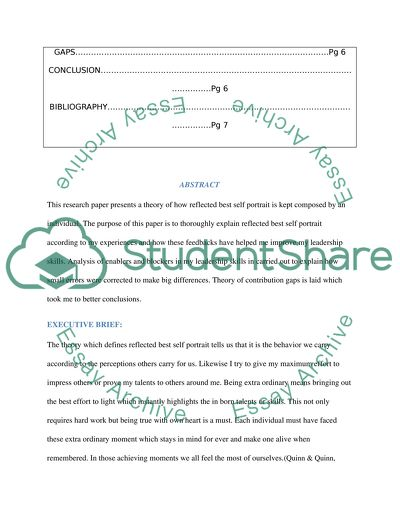 University of texas dissertation proposal