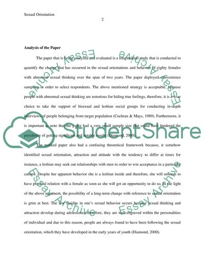 literary essay structure with example