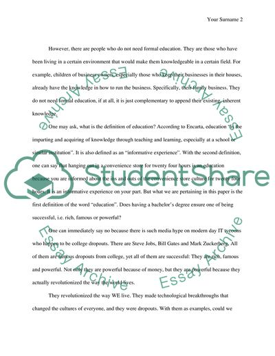 essay about education is the key of success
