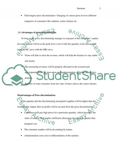 ECO 5 CA essay example