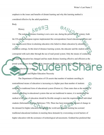 essay questions adult education Free exclusive and advanced collection of english essays adult education is education given to the adults or grown up select essay topics college.
