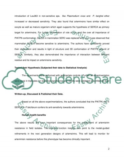 5step Approach to Biomedical Science Research essay example