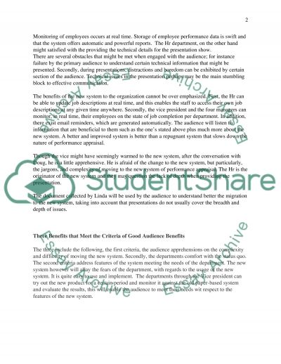 Business Communications: Project # 1 Essay example