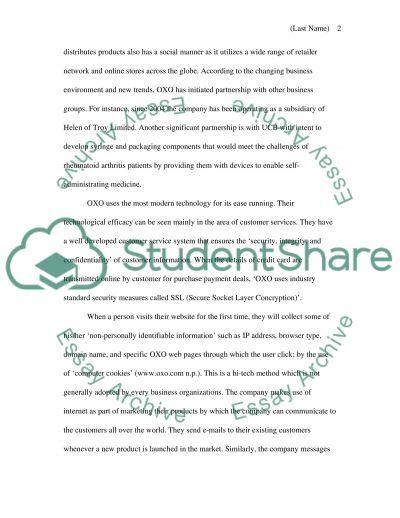 Scenario analysis essay example