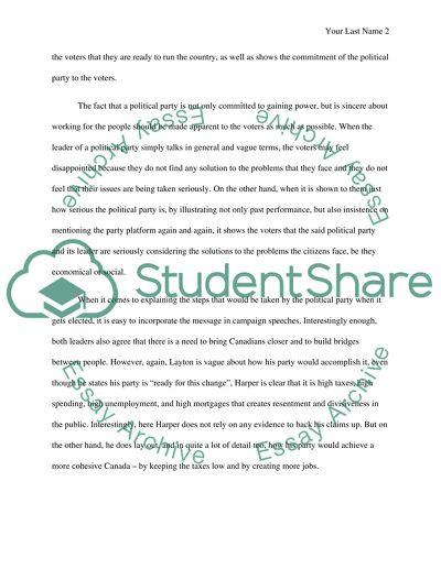 Comparison & Contrast Essay