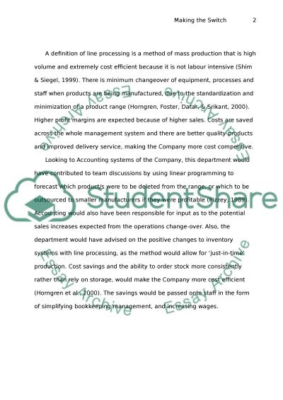 International Business Operations Management essay example