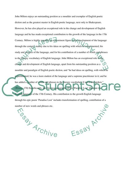 Research paper about english language