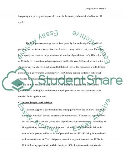essay on welfare system Free sample essay on a welfare state the concept of the welfare state is  comparatively of recent origin it came into prominence mainly after.