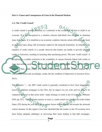 Financial marketing essay example