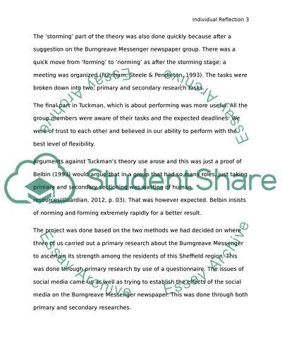 Team creation paper essay