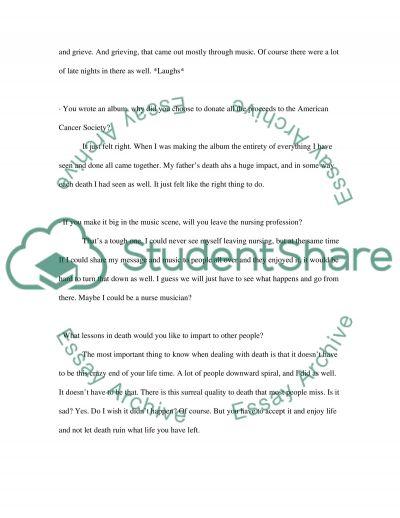 Interview College Essay essay example