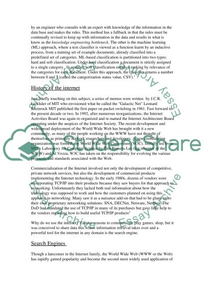 Scientific Information Retrieval essay example