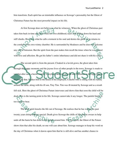 Research Essay Thesis A Christmas Carol Which Of The Three Spirits Is The Most Influential In  Scrooges Transformation Business Essay Writing also Thesis Essay Examples A Christmas Carol Which Of The Three Spirits Is The Most  Business Essay Sample