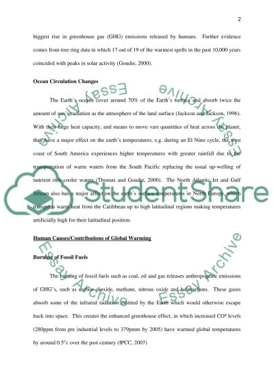 mitigation strategies and solutions essay
