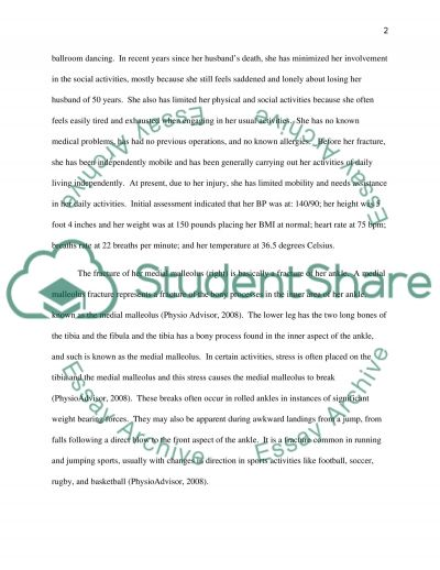Surgical Environment Patient Care Essay example