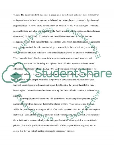 Challenges for reworking corrections essay example