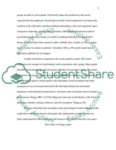 Graduate Reflection Paper 2(b)