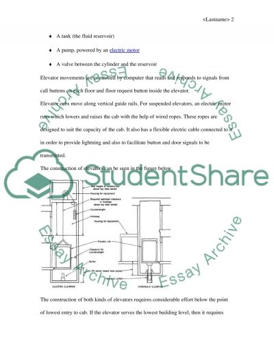 Building Engineering Services Essay Essay example