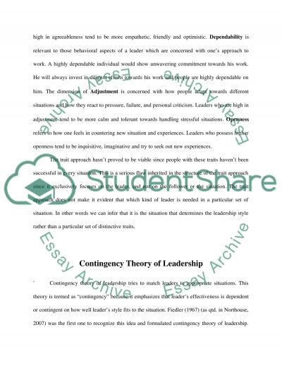 Issue in Contemporary Management essay example
