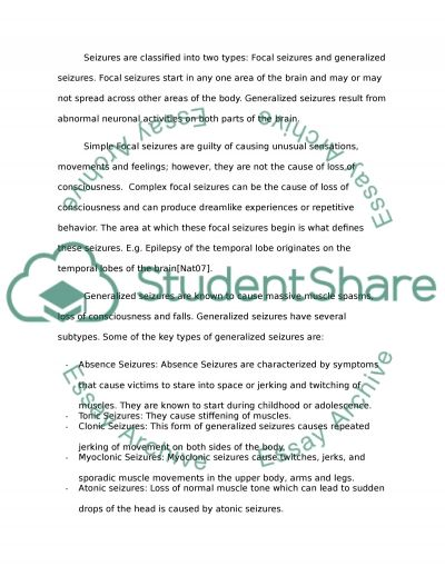 Teachers Collaborating to Help Students with Epilepsy essay example