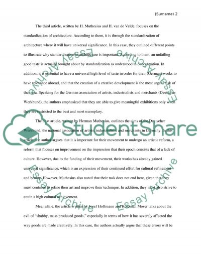 Summerize articles essay example